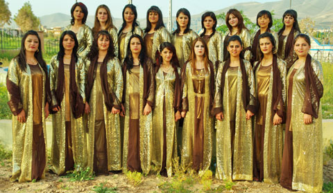 Kurdistan Girls Choir Tawar