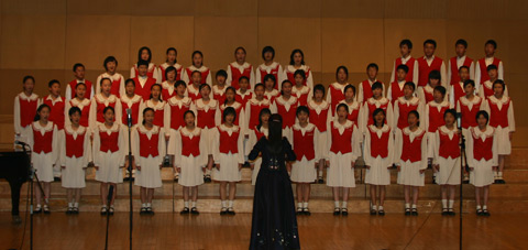 Beijing Zhongguancun Middle School Choir