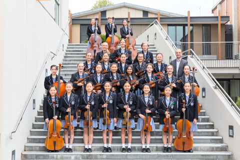 Camberwell Girls Grammar School Tour String Orchestra
