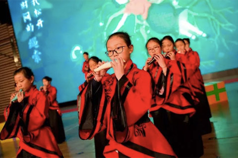 Chinese National Orchestra of Ocarina, XIWAI International School