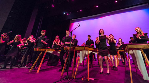 World Music Program Ensembles