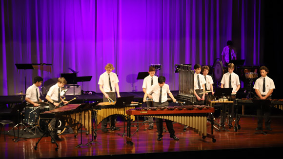 Trinity College Percussion Ensemble
